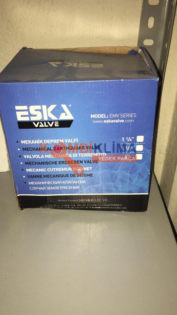 EMV Serisi Mekanik Deprem Vanası